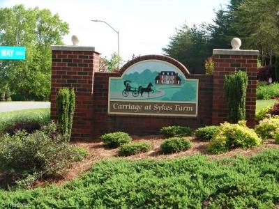 Asheboro Residential Lots & Land For Sale: Lot 23 Horse Carriage Lane