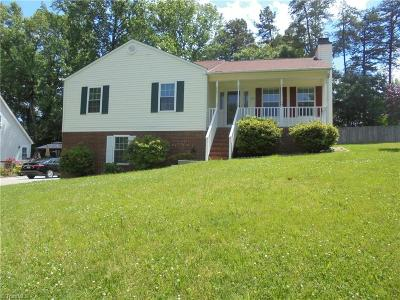 Kernersville Single Family Home For Sale: 351 Windsor Manor Way