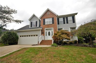 Greensboro Single Family Home For Sale: 3107 Bannock Lane