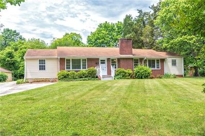 Winston Salem Single Family Home For Sale: 30 Evergreen Drive