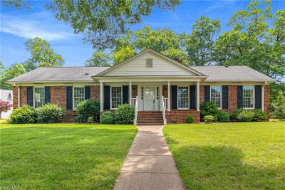 Guilford County Single Family Home For Sale: 1300 Clover Lane