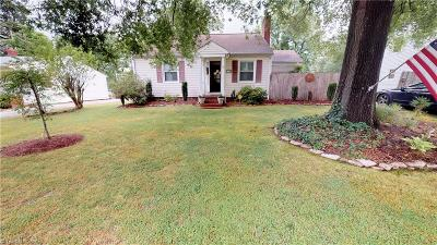 High Point Single Family Home Due Diligence Period: 1406 Chestnut Drive