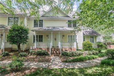 Greensboro Condo/Townhouse For Sale: 602 Spring Garden Street