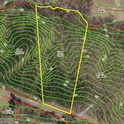 Surry County Residential Lots & Land For Sale: 000 Tbd Hauser Road