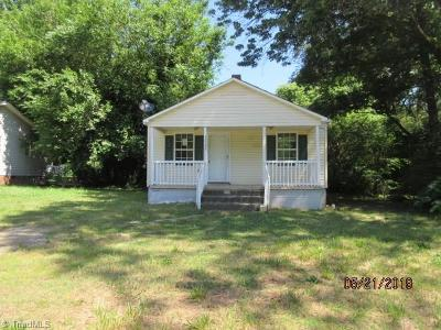 High Point Single Family Home For Sale: 1515 Willard Avenue