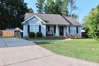 Gibsonville Single Family Home For Sale: 70 Falcon Court