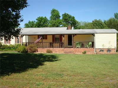 Davie County Manufactured Home For Sale: 367 Howardtown Road