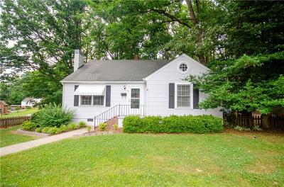 Asheboro NC Single Family Home For Sale: $124,900