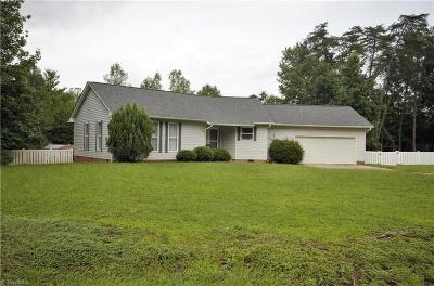 Guilford County Single Family Home Due Diligence Period: 5602 Whispering Pines Drive