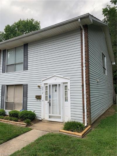 Guilford County Condo/Townhouse Due Diligence Period: 301 E Montcastle Drive #F