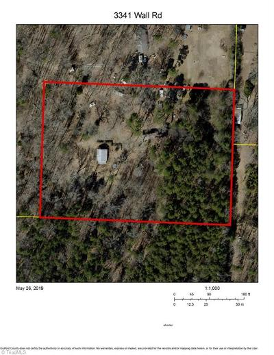 Greensboro Residential Lots & Land For Sale: 3341 Wall Road