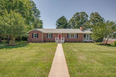 Winston Salem Single Family Home For Sale: 120 Bishop Street