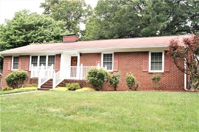 Winston Salem Single Family Home Due Diligence Period: 2520 Weymoth Road