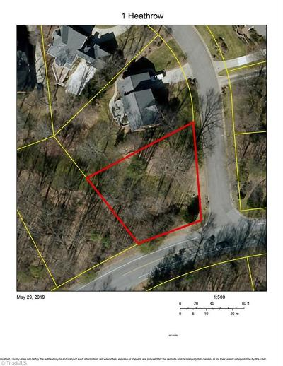 Greensboro Residential Lots & Land For Sale: 1 Heathrow Court