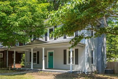 Single Family Home For Sale: 1100 Hawthorne Road