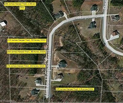Lexington Residential Lots & Land For Sale: 196 James Harper Trail