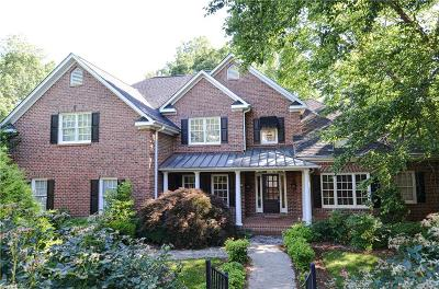 Winston Salem Single Family Home For Sale: 1460 Ridgemere Lane