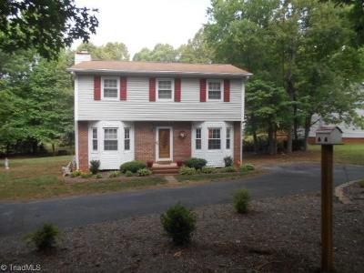 Reidsville Single Family Home For Sale: 188 Chinqua Penn Trail