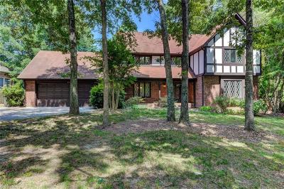 High Point Single Family Home For Sale: 4103 Oak Hollow Drive