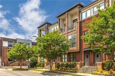 Winston Salem Condo/Townhouse For Sale: 817 Holly Avenue