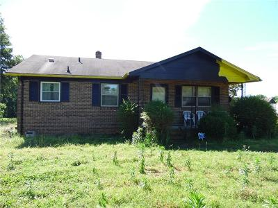 Yanceyville Single Family Home For Sale: 1384 Old Nc Highway 86 N