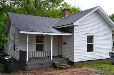 Asheboro Single Family Home Due Diligence Period: 119 N Cherry Street