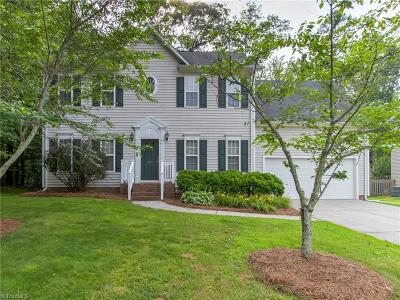 Greensboro Single Family Home For Sale: 3297 Valley Crossing Drive