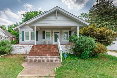 Burlington Single Family Home For Sale: 128 W Summit Avenue