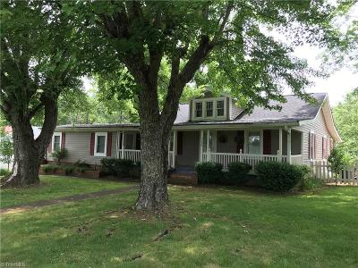 Tobaccoville Single Family Home Due Diligence Period: 5176 Spainhour Mill Road