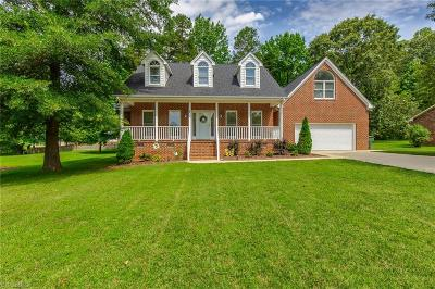 Alamance County Single Family Home Due Diligence Period: 513 Brookview Drive