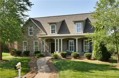 Winston Salem Single Family Home For Sale: 183 Mallard Glen Circle