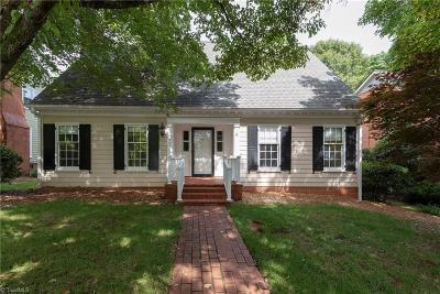 Winston Salem NC Single Family Home For Sale: $330,000