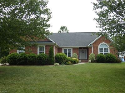 Winston Salem Single Family Home For Sale: 4608 Katies Trail