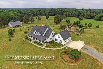 Single Family Home For Sale: 7789 Stokes Ferry Road
