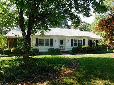 Greensboro Single Family Home For Sale: 5519 Robinridge Road