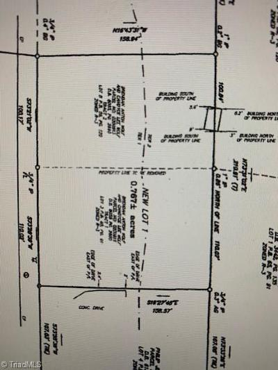 High Point Residential Lots & Land For Sale: 917 Aberdeen Road