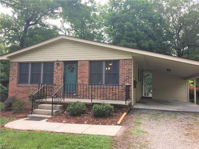 High Point Single Family Home Due Diligence Period: 318 Monnell Drive