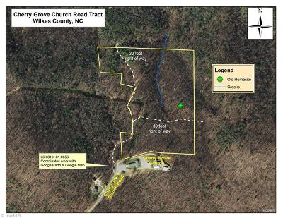 Wilkes County Residential Lots & Land For Sale: Cherry Grove Church Road