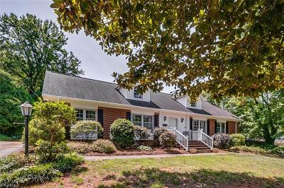 Greensboro Single Family Home For Sale: 3617 Birchwood Lane
