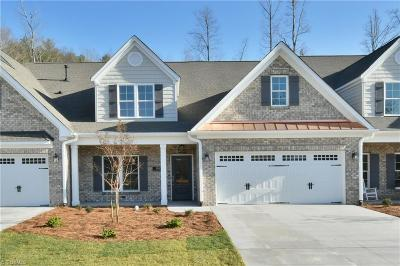 Kernersville Condo/Townhouse For Sale: 1663 Angus Ridge Drive