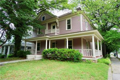 Greensboro Single Family Home For Sale: 215 S Mendenhall Street