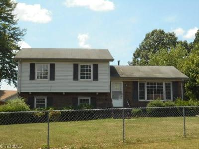 Winston Salem Single Family Home For Sale: 4000 Rosa Street