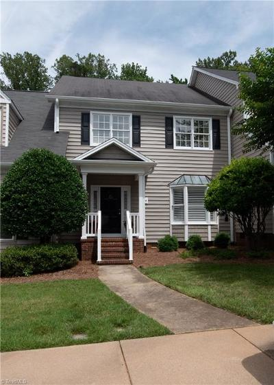 Greensboro Condo/Townhouse For Sale: 3724 Cardinal Downs Drive