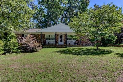 Greensboro Single Family Home For Sale: 3801 Pershing Court