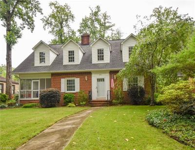 Greensboro Single Family Home For Sale: 205 S Chapman Street