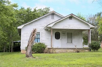Lexington Single Family Home For Sale: 1063 Weaver Road