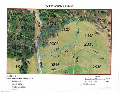 Wilkes County Residential Lots & Land For Sale: Turkey Trail