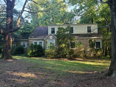 Winston Salem Single Family Home For Sale: 176 Wayside Drive
