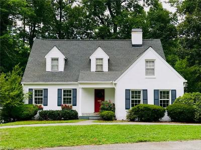 High Point Single Family Home For Sale: 1006 Emery Circle