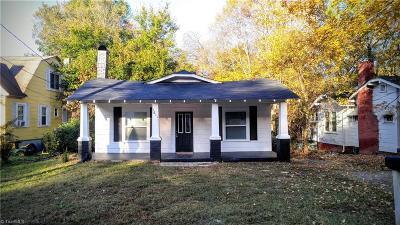 High Point Single Family Home For Sale: 1611 N Hamilton Street